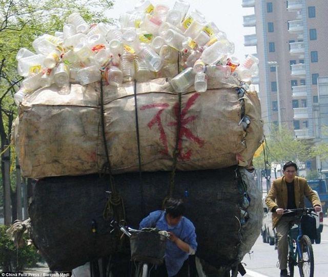 Vehículos sobrecargados en China (15)