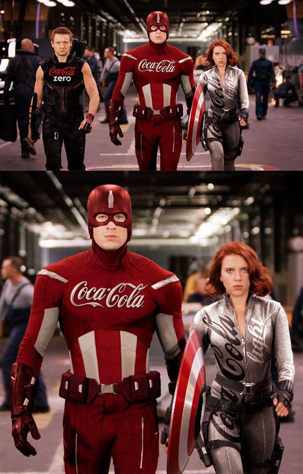 Superhéroes patrocinados por marcas famosas (10)