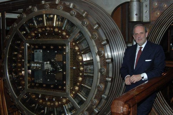 Caja fuerte de JP Morgan