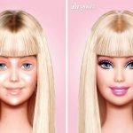 Barbie sin maquillaje (2)