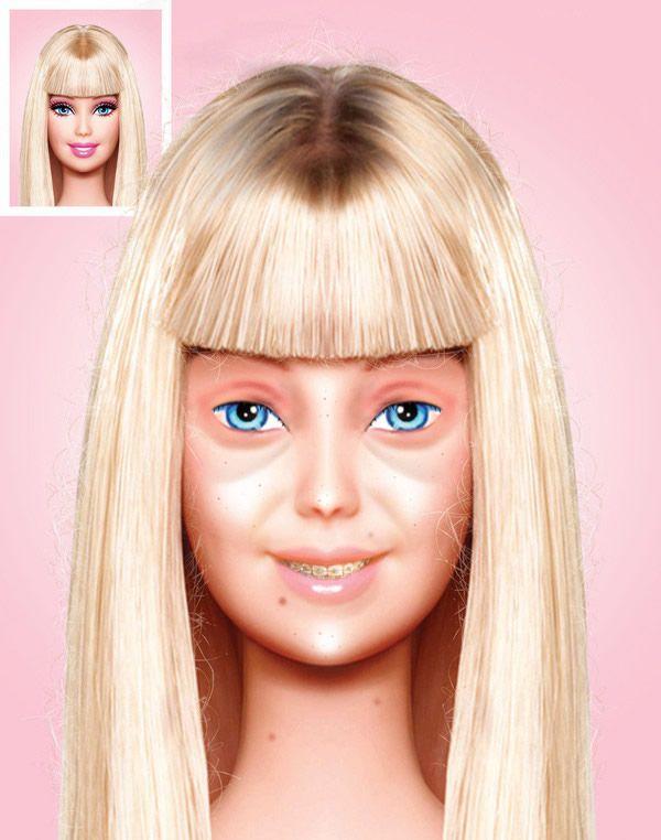 Barbie sin maquillaje (1)
