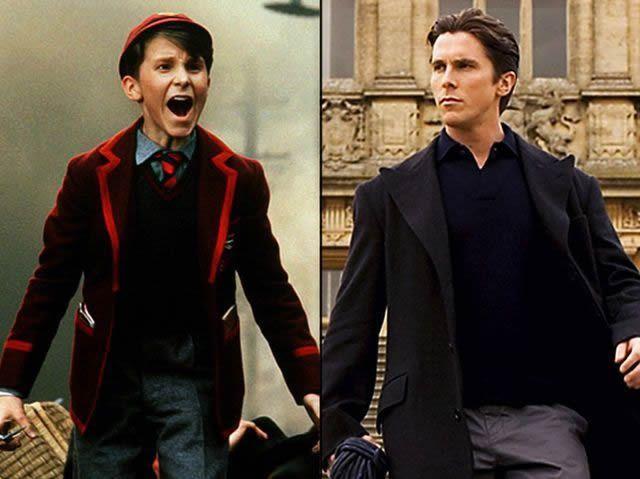Christian Bale antes despues Famosos infancia()