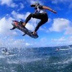 Jet Surf en accion