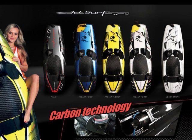 Jet Surf modelos