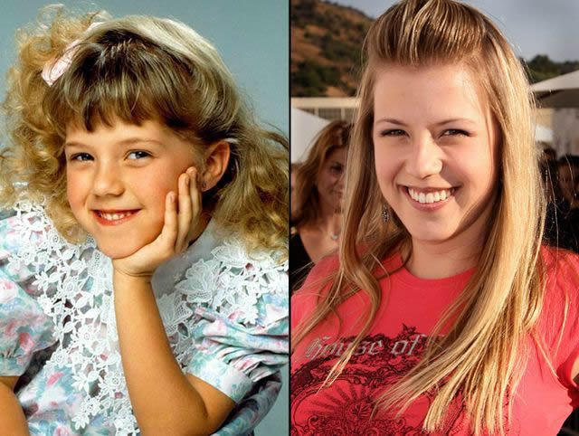 Jodie Sweetin antes despues Famosos infancia()