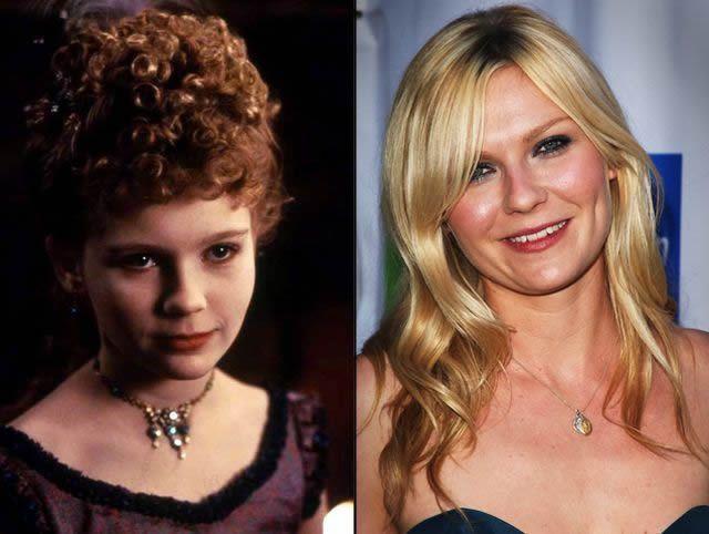 Kirsten Dunst antes despues Famosos infancia()