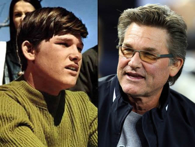 Kurt Russell antes despues Famosos infancia()