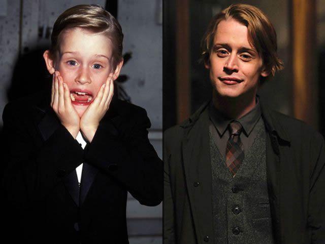 Macaulay Culkin antes despues Famosos infancia()