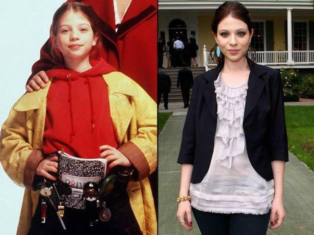 Michelle Trachtenberg antes despues Famosos infancia()