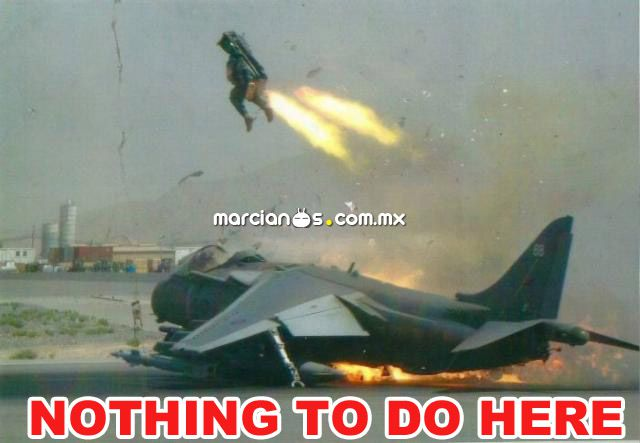 Nothing To Do Here Jet Pack Guy Real