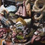 Pinturas deformes de Rex van Minnen