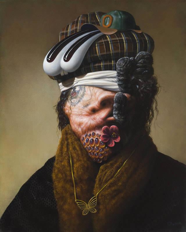 Pinturas grotescas de Rex van Minnen (4)