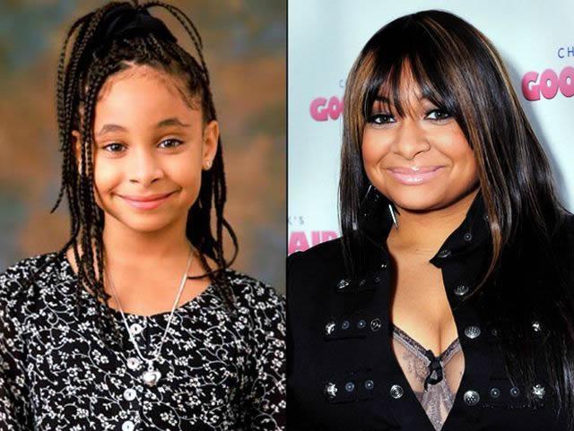 Raven Simone antes despues Famosos infancia()