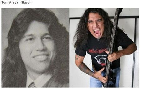 Tom ArayaSlayer antes despues Famosos infancia()
