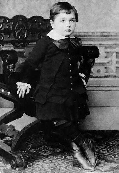 Albert Einstein niño