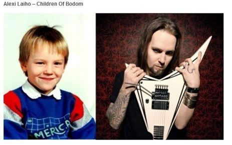 alexi laiho rock antes despues Famosos infancia()