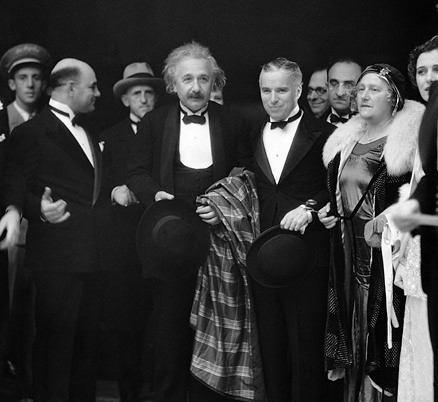 Albert Einstein y Chaplin