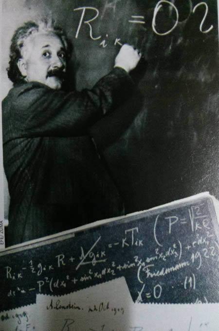 Albert Einstein formulas