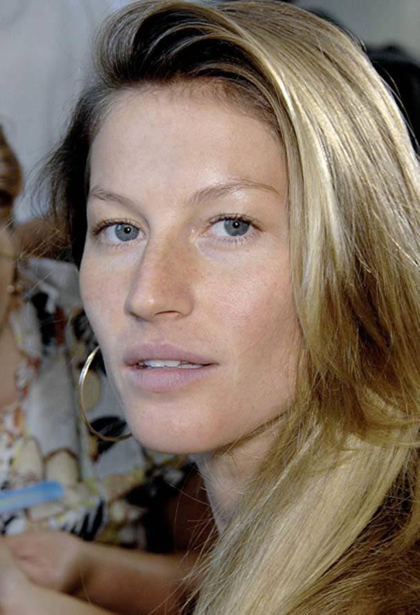 Gisele Bundchen sin maquillaje
