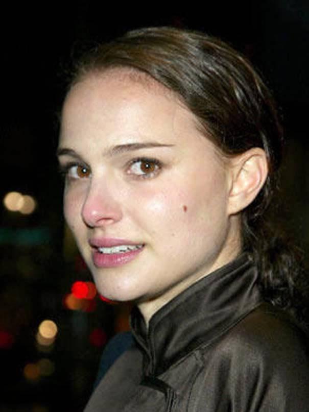 Natalie Portman sin maquillaje