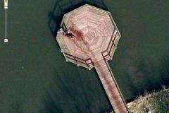 Escena del crimen en Google Maps