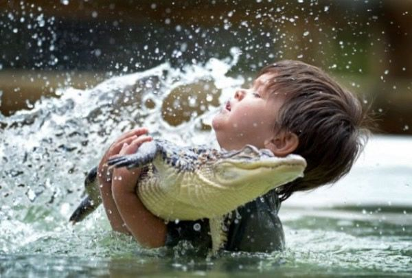 Charlie Parker niño cocodrilos (2)