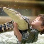 Charlie Parker niño cocodrilos (1)