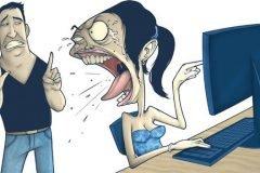 novia celosa internet