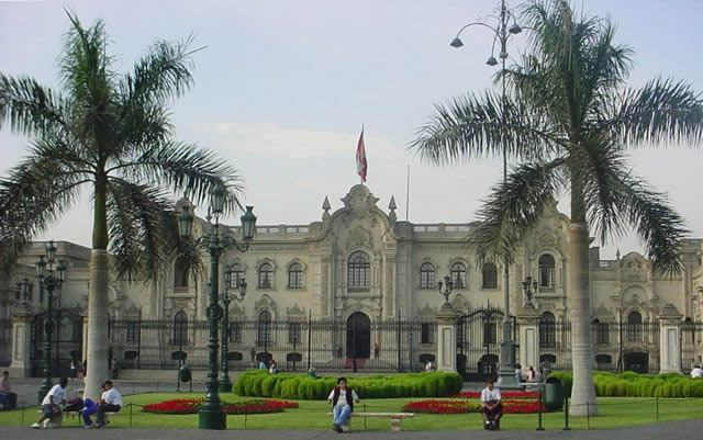 palacio gobierno peru