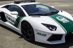 Policía de Dubai Lamborghini Aventador (5)