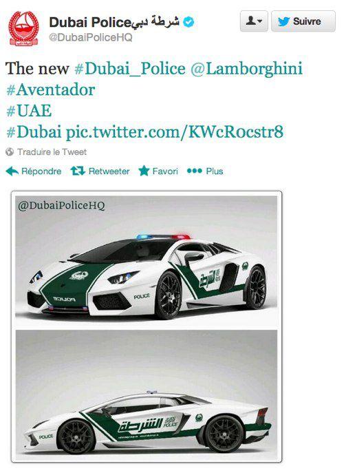 Policía de Dubai Lamborghini Aventador (3)