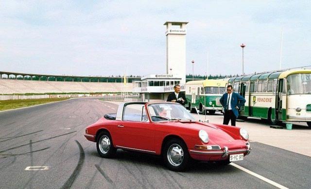 Porsche 911S Targa 1967 390 50 años Porsche 911