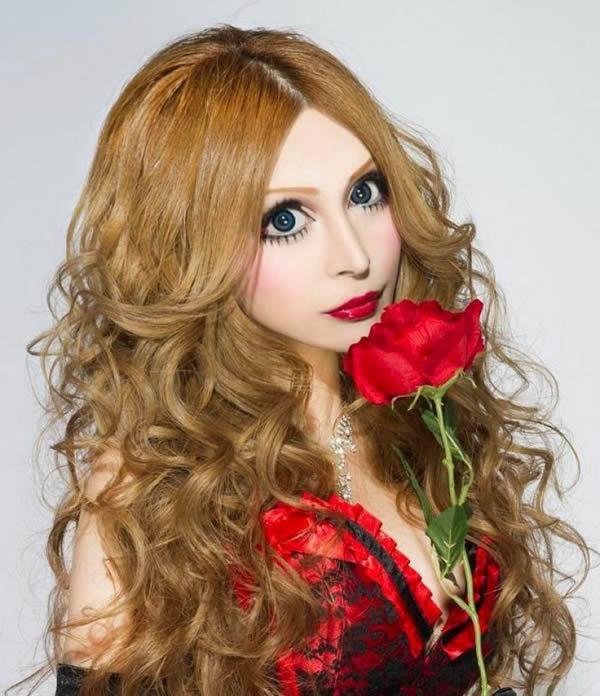 Vanilla Chamu muñeca de porcelana (1)