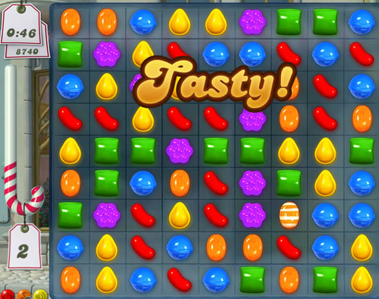 Juego Flash Candy Crush Marcianos