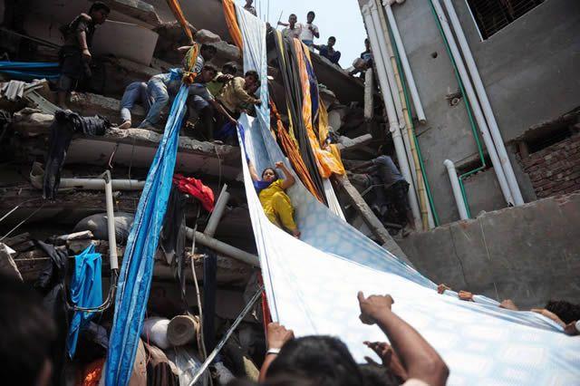 derrumbe en Bangladesh tragedia