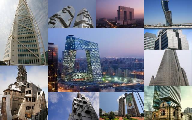 10 edificios más extraños del mundo