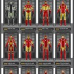 iron man evolucion armadura