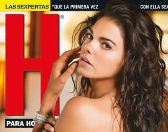 Livia Brito revista H Octubre 2012.