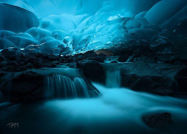 Cuevas de hielo Mendenhall