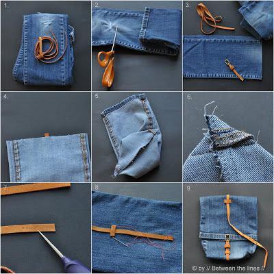 Reciclando pantalones vaqueros (21)