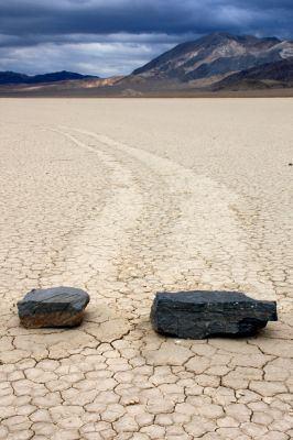 rocas andantes Racetrack Playa