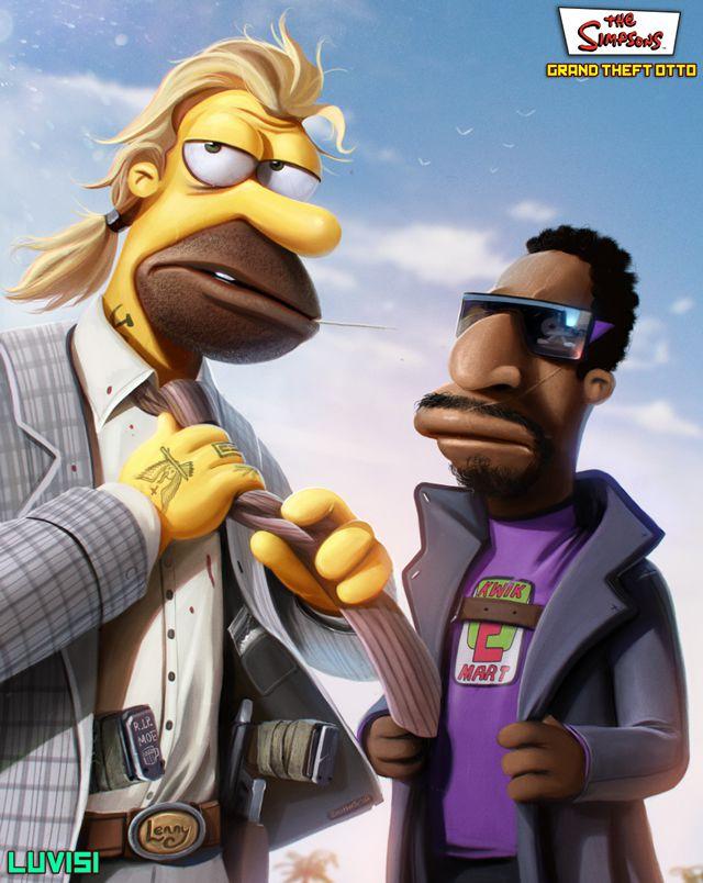 GTA y Los Simpsons (2)