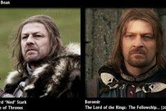 Precedentes en películas / series de los actores de Game of Thrones