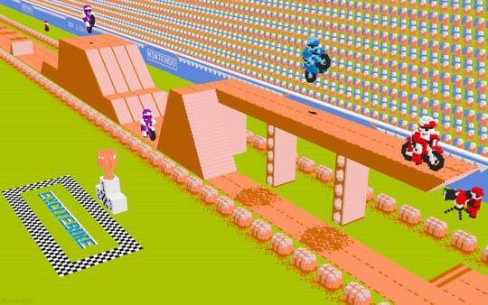 Nintendo 3D Excitebike