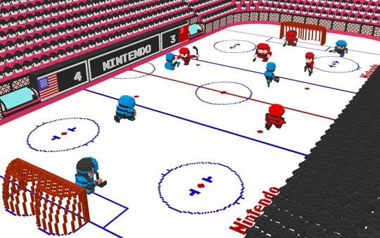 Nintendo 3D Ice Hockey