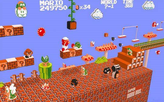 Juegos Antiguos En 3d Marcianos