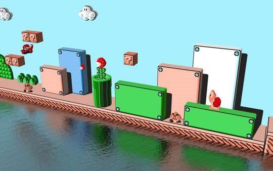 Nintendo 3D Mario 2