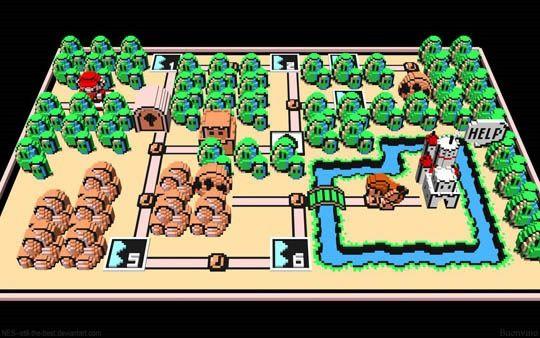 Nintendo 3D Mario 1