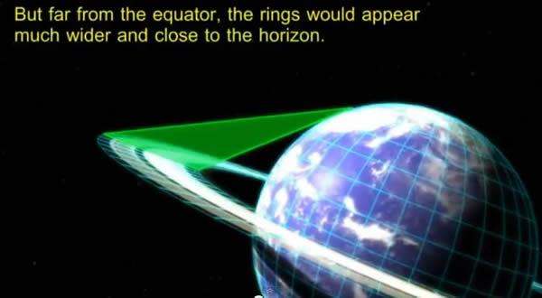 ecuador anillos saturno horizonte