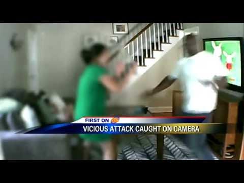 Ladrón irrumpe en una casa y golpea a la víctima